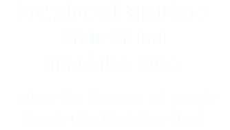 Downtown Hampshire State Street near Allen Road Follow the throngs of people headed in that direction!